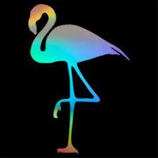 Cute Flamingo Decal Car Window Bumper Laptop Vinyl Sticker Multicolor Choose Ebay
