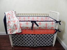 custom nautical baby bedding set breen