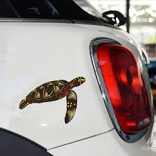 2020 14 10 5cm Turtle Indigenous Sticker Art Vinyl Car Boat Australian Accessories Decorative Decal From Xymy777 2 45 Dhgate Com