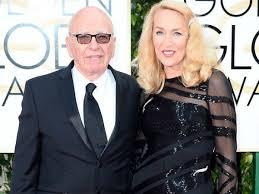 UK Media mogul Rupert Murdoch ties knot with Jerry Hall - Oneindia ...