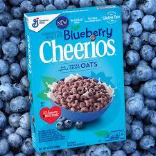 announces debut of blueberry cheerios
