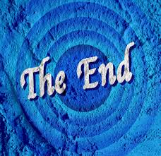 The End Movie Ending Screen On Cement Free Stock Photo - Public ...