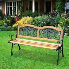 outsunny 50 porch park chair garden