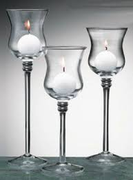 long stem tea light candle holder