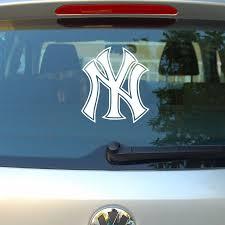 New York Yankees Decal Sticker Car Window 6 X 5 75