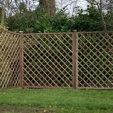 6ft High Mercia Diamond Trellis Pressure Treated Elbec Garden Buildings