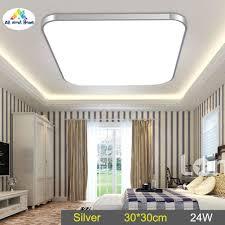 Đèn LED Âm Trần ABH Hình Vuông 24W Tiết Kiệm Năng Lượng Cho Phòng Ngủ Phòng  Khách