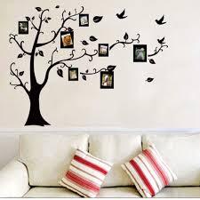 Family Tree Wall Stickers Removable Diy Photo Frame Home Decor Wall Decals For Living Room Bedroom Walmart Com Walmart Com