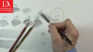 drawing pencils drawing academy video