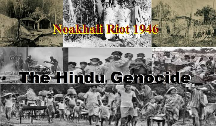 Image result for hindus massacre in naukali""