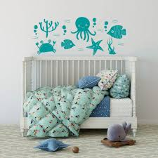 Seagull Wall Decals Under The Sea Canada Turtle Removable For Bedroom Art Cave Amazon Otter Words Vamosrayos