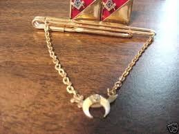 enameled cufflinks gold plated tiebar