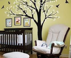 Giant Birds Tree Wall Arts Nursery Kids Home Decor Baby Gifts Mural Wa Idecoroom
