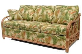rattan sleep sofa