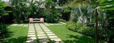 tropical garden design landscaping in