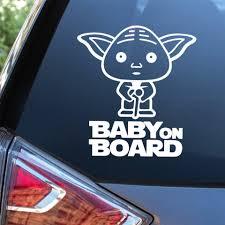 Cute Star Wars Car Decal Car Wrap Vinyl Film Automobiles Products Car Accessories Car Stickers Aliexpress