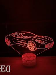 gift gadget jaguar car night l ed