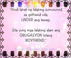 cute boyfriend quotes for facebook tagalog am just someone