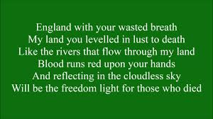 The Ballad of Bobby Sands with lyrics - YouTube