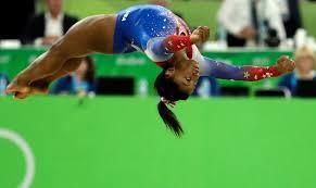 rio olympics today simone biles soars
