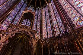 sainte chapelle visiting a stained