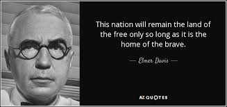 top quotes by elmer davis a z quotes