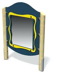 wavy mirror hncj me
