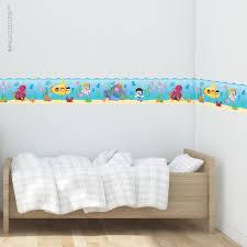 Sea Wallpaper Border Fabric Wall Decal Kids Wallpaper Etsy In 2020 Kids Room Wall Decals Kids Wall Decals Kid Room Decor