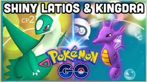 SHINY LATIOS & POSSIBLY SHINY KINGDRA IN POKEMON GO | SHINY LATIOS RAID  COUNTERS - YouTube