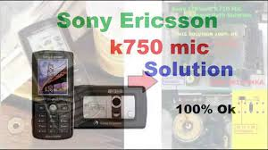 Sony Ericsson k750 Mic Solution - YouTube