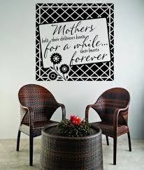 Decal Mothers Hold Their Children S Hands For A While Family 20x20 Contemporary Wall Decals By Design With Vinyl