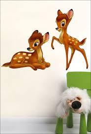 bambi multi color kids wall sticker