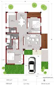 2 bhk house plan in 700 sq ft the
