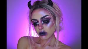 messy little devil makeup