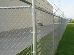 Various Chain Link Fence Types With Accessories Parts And Installing Info In 2020 Chain Link Fence Chain Link Fence Installation Chain Fence