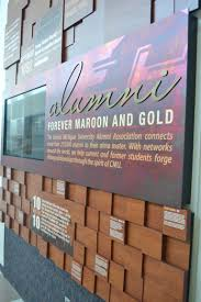 Cmu Alumni Association Alumni Wall Display Paragon Design Display
