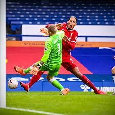 Virgil Van Dijk had to go off injured ...