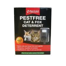 Rentokil Pestfree Cat And Fox Deterrent 10m Range Homebase
