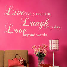 Live Laugh Love Quote Wall Sticker Decal World Of Wall Stickers