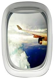Vwaq Airplane View Window Decal Peel And Stick Aviation Wall Art Sticker Contemporary Wall Decals By Vwaq Vinyl Wall Art Quotes And Prints
