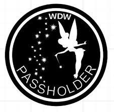 Walt Disney World Annual Passholder Vinyl Decal For Cars Windows U Pick Color