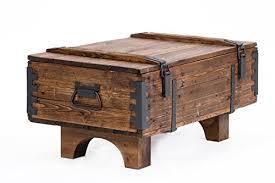 coffee table cottage wooden pine chest