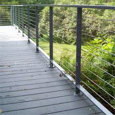 Modern Design Easy Install Tension Wire Stainless Steel Cable Railing For Stair