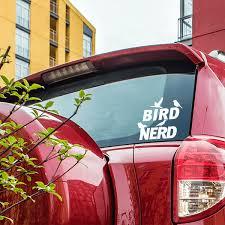 Bird Nerd Car Window Decal 904custom Com