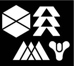 Destiny 2 Vinyl Decals Video Game Decals Titan Warlock Etsy