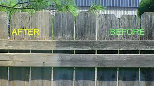 How To Restore That Old Grey Fence To New Looking Again Youtube