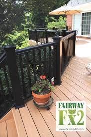 Porch And Deck Railing Vinyl Composite Aluminum Railing Systems Specialty Railing Systems Railing A Decks And Porches Deck Colors Aluminum Railing Deck