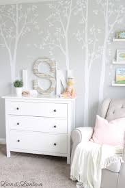 Safe Wall Letters A Sweet Nursery Update Caitlin Marie Design