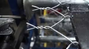 Take A Minute To Watch A Machine Make A Chain Link Fence