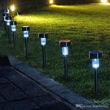 outdoor solar lawn garden lights